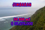 Eye-catching Property in Bali, Land sale in Jimbaran Bali – 50.000 m2 @ $ 706
