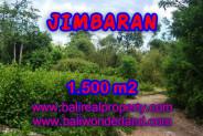 Exotic Property in Bali, Land sale in Jimbaran Bali – 1.500 m2 @ $ 185