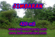 Land for sale in Bali Indonesia, Astonishing property in Jimbaran Bali – 420 m2 @ $ 365