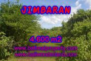 Land in Bali for sale, Stunning Property in Jimbaran Bali – 4.600 m2 @ $ 335