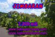 Land for sale in Bali, Outstanding view in Jimbaran Bali – 7.200 m2 @ $ 335