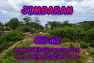 Land for sale in Bali, Spectacular view in Jimbaran Bali – 450 m2 @ $ 475