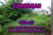 Amazing Property in Bali, Land for sale in Jimbaran Bali – 400 m2 @ $ 345