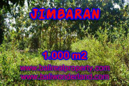 Land for sale in Bali, Spectacular view in Jimbaran Bali – 1.000 m2 @ $ 325