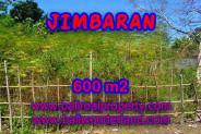 Land in Bali for sale, Great view in Jimbaran Bali – 600 m2 @ $ 325