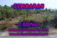 Land for sale in Bali, Interesting view in Jimbaran Bali – 1.000 m2 @ $ 325