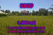 Exotic Property for sale in Bali, Land in Ubud for sale– 1.300 m2 @ $ 265