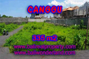 Land in Bali for sale, Stunning view in Canggu Bali – TJCG142