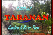 Beautiful Property for sale in Bali, land for sale in Tabanan Bali  – 2.000 m2 @ $ 45