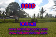 Astounding Property in Bali, Land in Ubud Bali for sale – 900 m2 @ $ 135