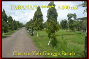 Affordable PROPERTY 5.100 m2 LAND FOR SALE IN TABANAN BALI TJTB186