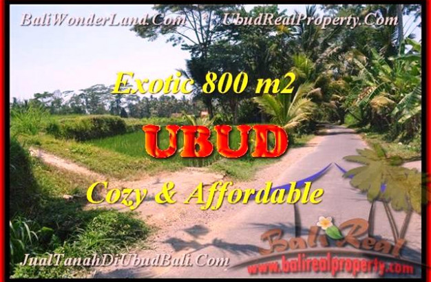 Magnificent PROPERTY 800 m2 LAND SALE IN Ubud Pejeng Tampaksiring BALI TJUB457
