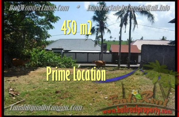 Affordable PROPERTY CANGGU 450 m2 LAND FOR SALE TJCG153