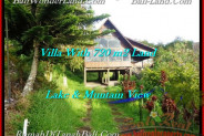 FOR SALE Magnificent LAND IN Tabanan Bedugul BALI