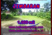 Exotic PROPERTY 1,000 m2 LAND SALE IN Jimbaran four seasons BALI TJJI063