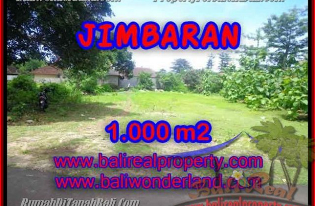 Exotic PROPERTY 1,000 m2 LAND SALE IN Jimbaran four seasons BALI TJJI063