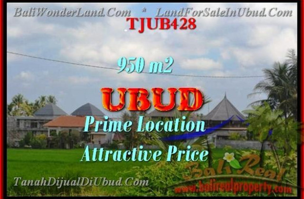 950 m2 LAND FOR SALE IN UBUD TJUB428