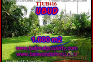 Exotic PROPERTY LAND IN UBUD FOR SALE TJUB416