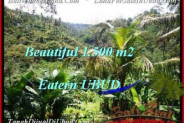 FOR SALE Magnificent PROPERTY 1,500 m2 LAND IN UBUD BALI TJUB503
