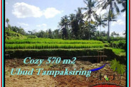 Exotic PROPERTY LAND FOR SALE IN UBUD TJUB511