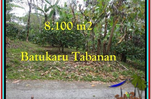 Beautiful LAND SALE IN Tabanan Penebel BALI TJTB212