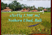Beautiful 1,500 m2 LAND FOR SALE IN Sentral Ubud TJUB488