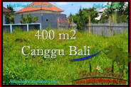 Magnificent PROPERTY 400 m2 LAND FOR SALE IN CANGGU BALI TJCG189
