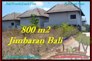 FOR SALE 800 m2 LAND IN Jimbaran BALI TJJI098