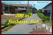 FOR SALE Exotic PROPERTY 200 m2 LAND IN JIMBARAN TJJI101