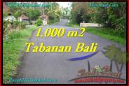 Beautiful 1,000 m2 LAND SALE IN TABANAN BALI TJTB243