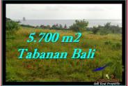 FOR SALE Affordable 5,700 m2 LAND IN TABANAN TJTB250