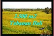 3,500 m2 LAND SALE IN TABANAN TJTB259