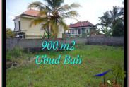 UBUD BALI 900 m2 LAND FOR SALE TJUB532