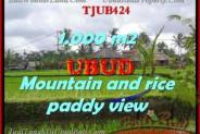 Affordable 1,000 m2 LAND IN UBUD BALI FOR SALE TJUB424