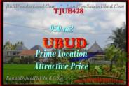Magnificent PROPERTY 950 m2 LAND IN Sentral Ubud FOR SALE TJUB428