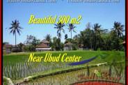 Magnificent PROPERTY 300 m2 LAND FOR SALE IN Sentral Ubud TJUB436
