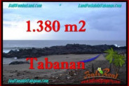 Exotic 1,380 m2 LAND FOR SALE IN TABANAN BALI TJTB270