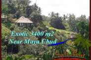 Magnificent PROPERTY LAND FOR SALE IN UBUD BALI TJUB514