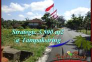 Beautiful 3,500 m2 LAND IN Ubud Tampak Siring FOR SALE TJUB517