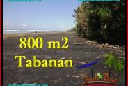 FOR SALE Affordable PROPERTY 800 m2 LAND IN TABANAN BALI TJTB260