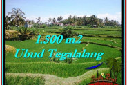 Exotic PROPERTY LAND FOR SALE IN UBUD BALI TJUB528