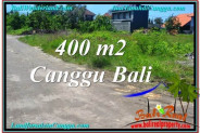 Beautiful PROPERTY 400 m2 LAND SALE IN CANGGU BALI TJCG202