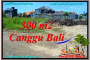 Magnificent PROPERTY CANGGU BALI 300 m2 LAND FOR SALE TJCG203