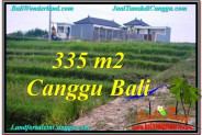 Exotic PROPERTY 335 m2 LAND IN CANGGU BALI FOR SALE TJCG204