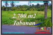 Affordable LAND IN Tabanan Kerambitan BALI FOR SALE TJTB301