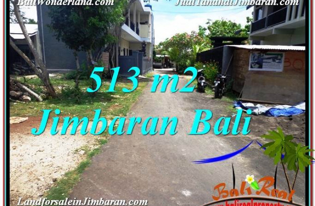Jimbaran Ungasan BALI 513 m2 LAND FOR SALE TJJI105