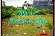 FOR SALE Exotic PROPERTY 200 m2 LAND IN JIMBARAN TJJI107