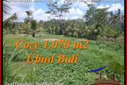 Exotic PROPERTY 1,070 m2 LAND SALE IN Sentral Ubud TJUB536