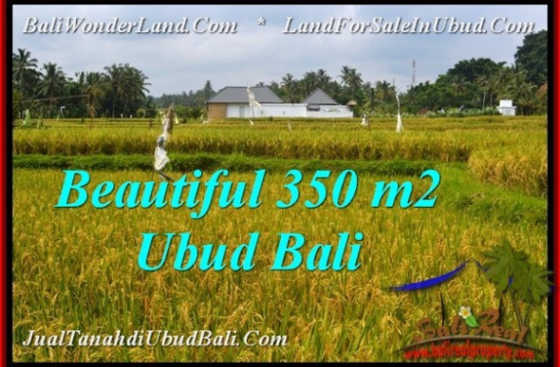 Exotic PROPERTY LAND FOR SALE IN UBUD BALI TJUB540