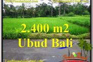 Magnificent PROPERTY 2,800 m2 LAND SALE IN Ubud Tampak Siring TJUB563